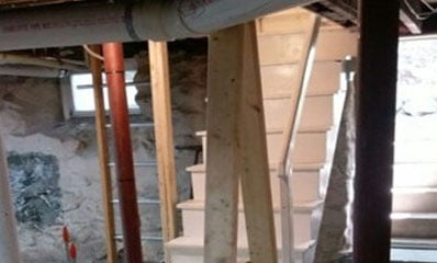 WORKS Builds Proper Basement Support for Old Houses